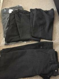Boys school trousers and shorts age 10