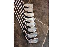 Mizuno mx20 iron set 3-pw regular shafts