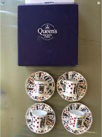 Brand New Playing cards coffee set
