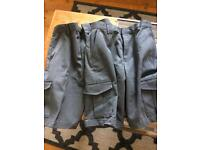 Pair of M&S school shorts