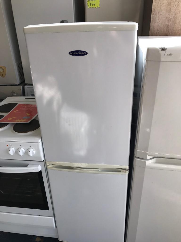 Ice king fridge freezer