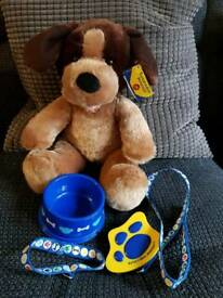 Build a bear dog and accessories