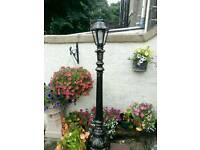 Georgian Style Lamp Post & Lantern