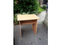 Small desk/table suitable for computer or laptop use