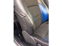MG ZR Rover 25 leather seats