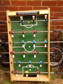 Kids table football.