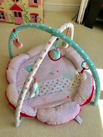 Mothercare play mat and toy arch, perfect condition