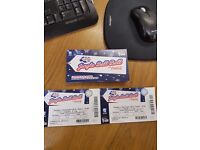 2 tickets to Capitals Jingle Bell Ball