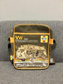 Rare VW TRANSPORTER T2 T4 T5 Haynes Man Bag hold-all retro vintage style Bus van camper SDHC