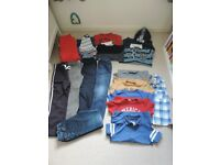 Bundle of clothes for boy, age 7 / 7-8