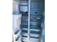 Large American fridge freezer.