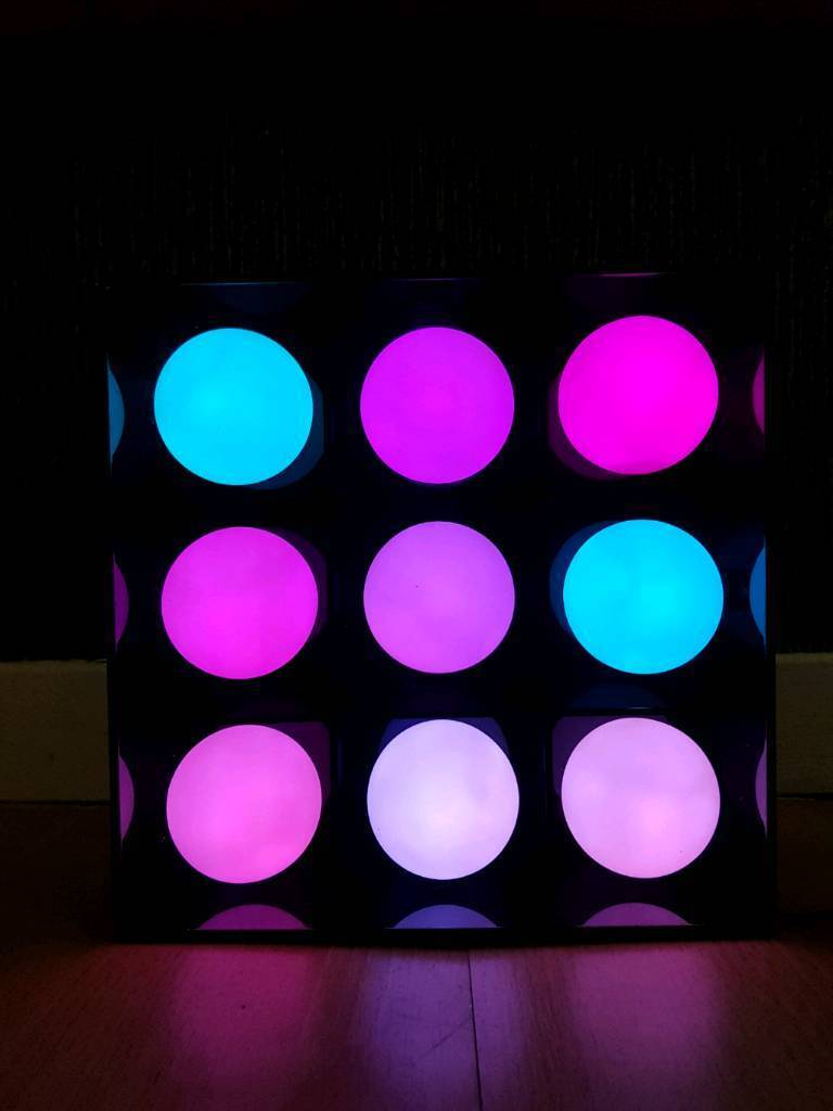 AMAZING led multi colour square.