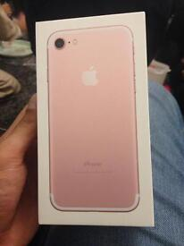 Apple iPhone 7 32gb sealed phone