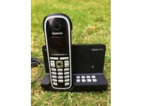 Siemens Gigaset Cordless Phone/answering machine, used, very good condition