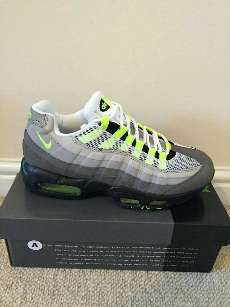 1e3e4ff197 NEW MENS NIKE AIR MAX 95 ALL SIZES 6 7 8 9 10 11 | in Bradford ...