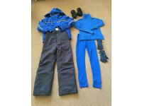 Boys Ski Wear Bundle for age 11-12, used once.