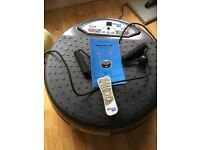 Vibrapower disc fitness plate for sale - buyer definitely collects!