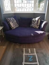 2 Dfs sofas