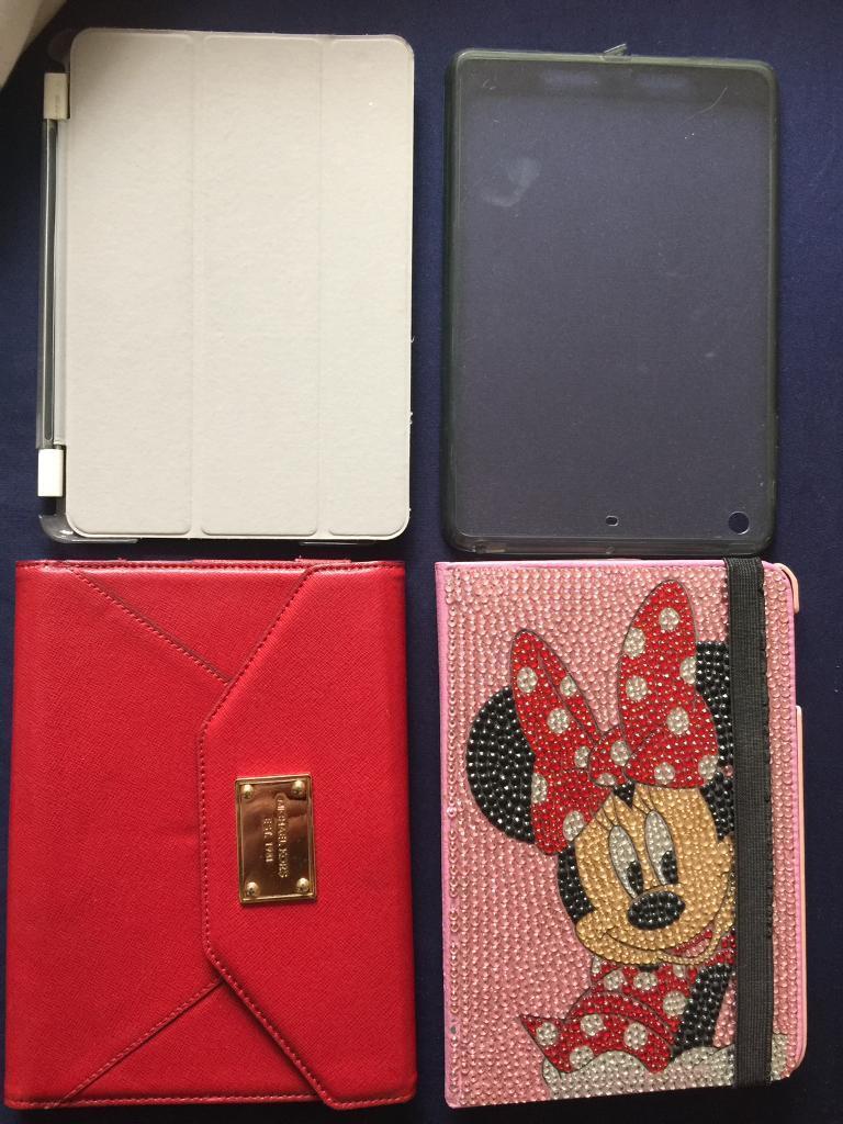 iPad mini cases very good condition