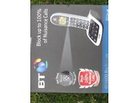 BT 4600 Big Button cordless answering home phone which also can block callers.