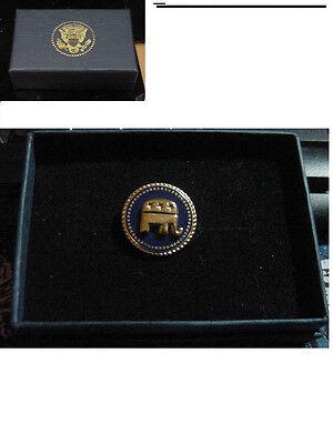 New  presidential Republican Lapel Pin Elephant