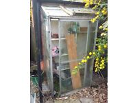 Small lean-to greenhouse - in need of repair FREE
