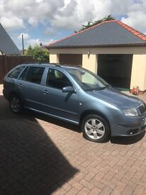 Skoda Fabia 1.9tdi Estate E/W A/C PAS, New timing belt fitted, MOT til 4/2/18