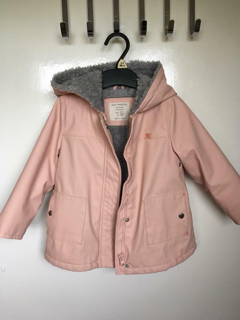 da7d6e033 Zara baby Girls coat age2-3. Excellent condition. Waterproof | in Bicester,  Oxfordshire | Gumtree