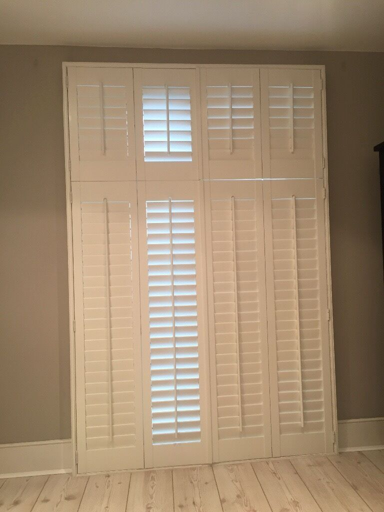 Plantation Shutters For Window Or Patio Doors In East Dulwich
