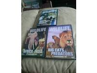 3 wildfile dvd's
