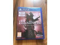 Bloodbourne , PS4 , as New ! Price stands , no offers !
