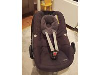Maxi Cosi Pebble Car Seat Group 0 (birth to 12 months)