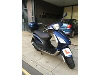 2009 Piaggio Fly 125cc ~ With New Mot £749