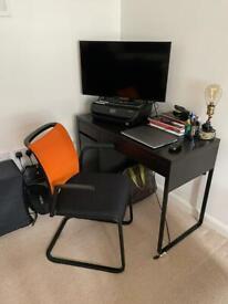 Desk + chair - £35