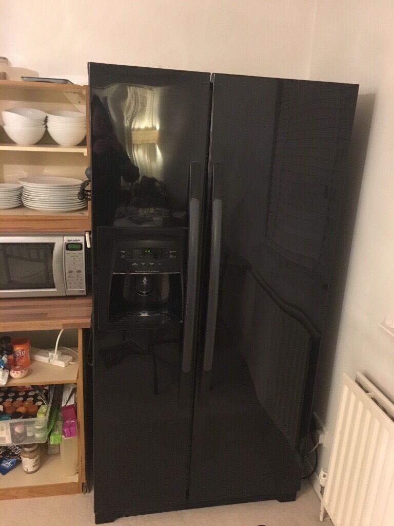 Black Daewoo FRS-U20DCB American fridge freezer | in Guildford ...