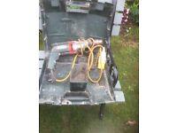 Assortment of electric drills etc