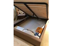 Double / king size bed with storage in immaculate condition