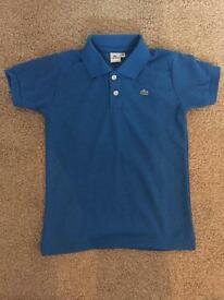Childs Lacoste polo shirt.
