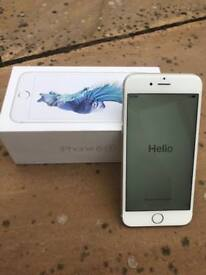 iPhone 6s 128gb in silver Unlocked