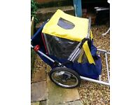 BIKE- CYCLE TRAILER Pet, Children, Lugguge