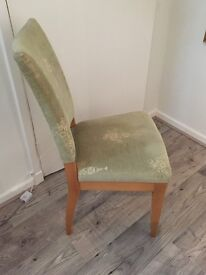 Habitat embroidered chair