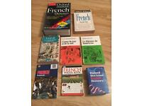 Essential French-learning books collection