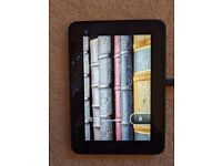 Amazon Kindle colour screen perfect condition with leather case