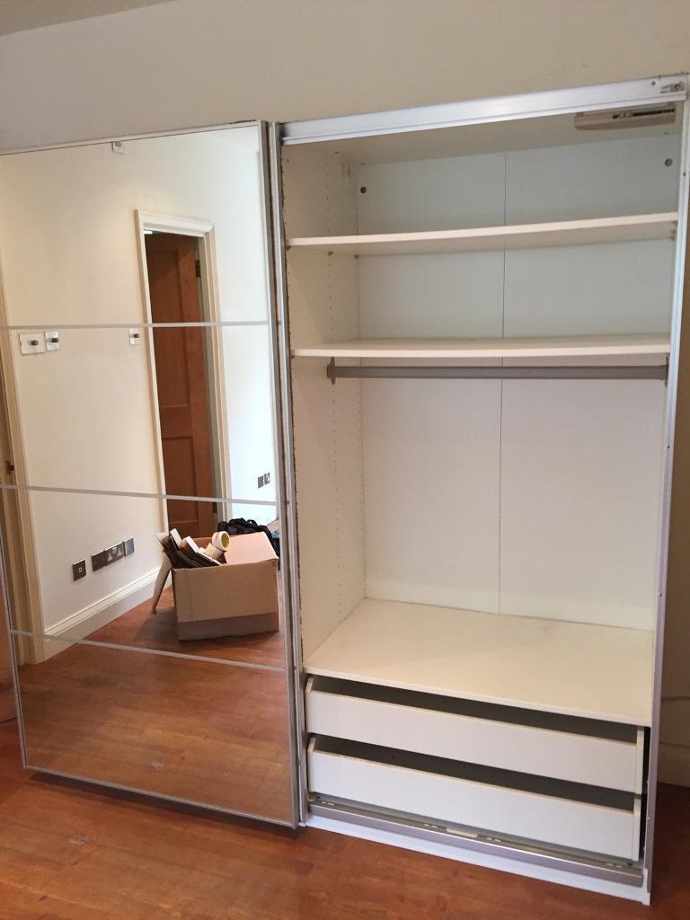 Ikea Pax Sliding Doors Wardrobe In Epsom Surrey Gumtree