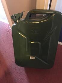 20l steel jerry can unused condition £20