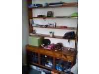 Antique bookshelf in good condition