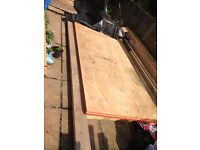 For sale four brand new 8x4 sheets of 12mm structural plywood, ( brand new )