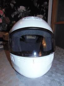 Shoei Syncrotec Helmet with tinted visor size medium