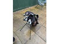 Golf Clubs, Wood, Putter & Bag