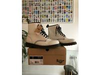 Dr Martens 1460 Boots White New w/tag UK 9